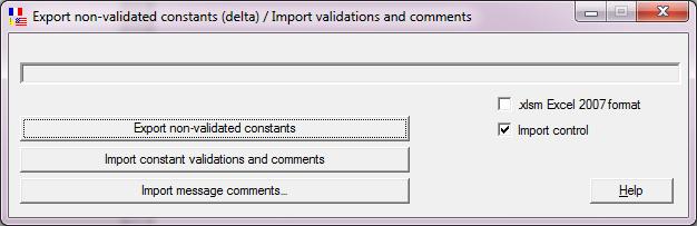 vertalingen importeren exporteren